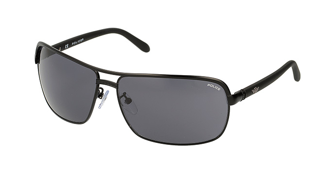 Police Gold Frame Sunglasses : Police Sunglasses S8852m Black - Mens Prescription ...