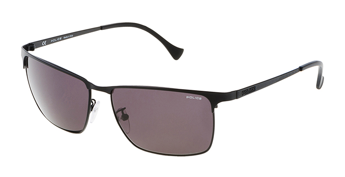 Police Gold Frame Sunglasses : Police Sunglasses Spl146 Black - Mens Prescription ...